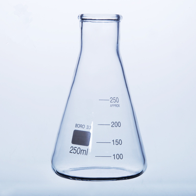 Glass Conical Flask/Glass Erlenmeyer Flask 25ml~5000ml