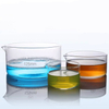 Flat Bottom Reusable Borosilicate Glass 60mm~200mm Crystallizing Dish With Spout