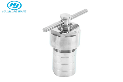 Stainless Steel Autoclave Hydrothermal Synthesis Reactor Vessel With PTFE Lining