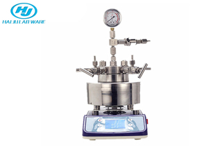 Lab High Pressure Stainless Steel Hydrothermal Synthesis Stirring Micro Autoclave Reactor