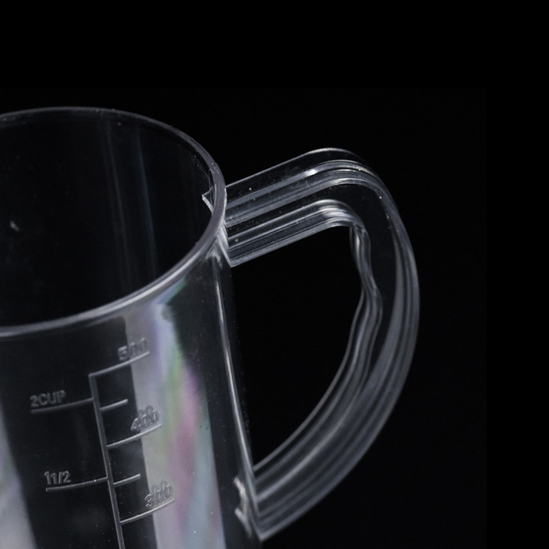 Clear Acrylic Measuring Cup 500ml~3000ml